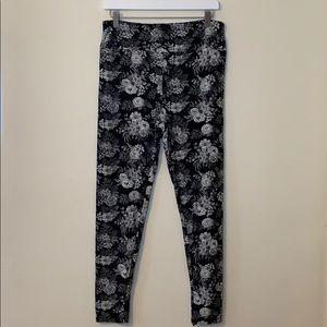 Floral Lularoe TC leggings